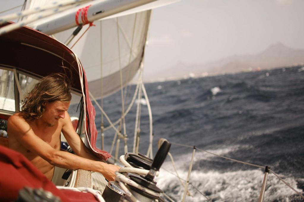 Atlantiküberquerung auf dem Boot
