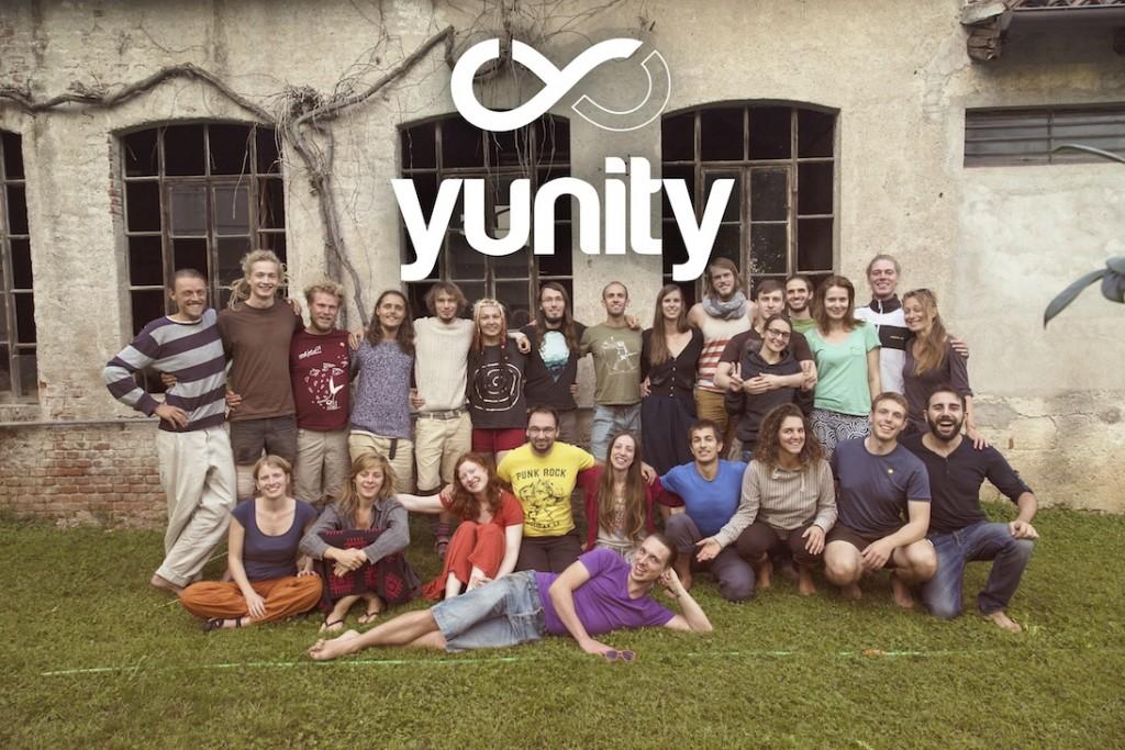 Das erste yunity Zusammenkommen auf den WuppDays #1 in Malo, Italien